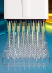 http://www.dreamstime.com/stock-photography-pipetting-plate-experiment-image25495922